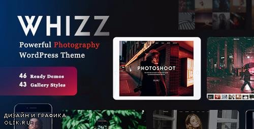 ThemeForest - Photography Whizz v1.4.9 - Photography WordPress for Photography - 20234560