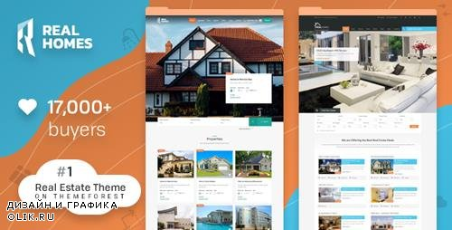 ThemeForest - Real Homes v3.8.3 - WordPress Real Estate Theme - 5373914