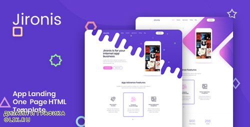 ThemeForest - Jironis v1.0 - App Landing One Page HTML Template - 23115732