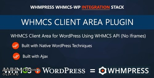 CodeCanyon - WHMCS Client Area for WordPress by WHMpress v3.0 - 11218646 -