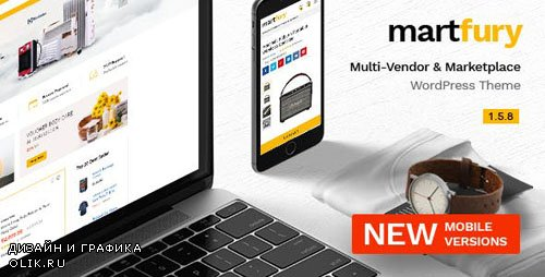 ThemeForest - Martfury v1.5.8 - WooCommerce Marketplace WordPress Theme - 21273233