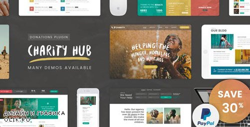 ThemeForest - Charity Foundation v1.1 - Charity Hub WP Theme (Update: 13 February 19) - 19763204
