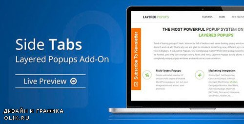 CodeCanyon - Side Tabs v1.50 - Layered Popups Add-On - 10335326