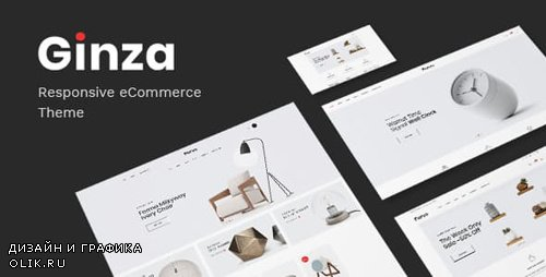 ThemeForest - Ginza v1.0 - Furniture Theme for WooCommerce WordPress - 23230525