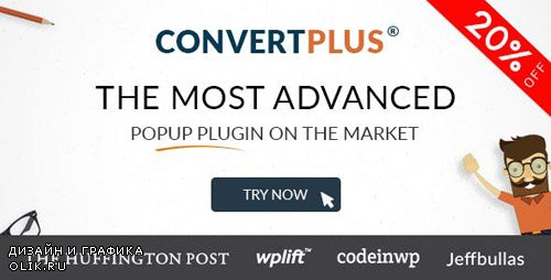 CodeCanyon - Popup Plugin For WordPress - ConvertPlus v3.4.1 - 14058953 -