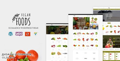 ThemeForest - Vegan Food v5.2.5 - Organic Store - Farm Responsive Woocommerce WordPress Theme - 18255861