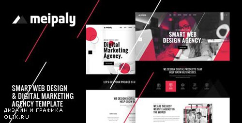 ThemeForest - Meipaly - Digital Services Agency HTML5 Responsive Template (Update: 29 January 19) - 23203579