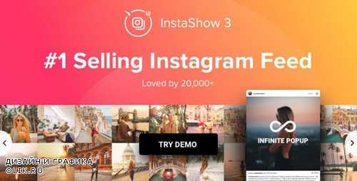 CodeCanyon - Instagram Feed v3.7.0 - WordPress Instagram Gallery - 13004086