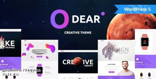 ThemeForest - Odear v1.1.1 - Multi-Concept Creative WordPress Theme - 19643089