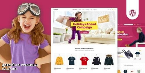ThemeForest - Uneno v1.0.4 - Kids Clothing & Toys Store WooCommerce Theme - 23067558