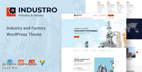 ThemeForest - Industro v1.0.3 - Industry & Factory WordPress Theme - 22998313