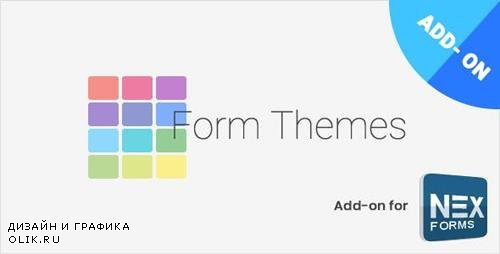 CodeCanyon - Form Themes for NEX-Forms v7.5 - 10037800