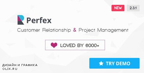 CodeCanyon - Perfex v2.3.1 - Powerful Open Source CRM - 14013737