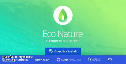 ThemeForest - Eco Nature v1.4.4 - Environment & Ecology WordPress Theme - 8497776