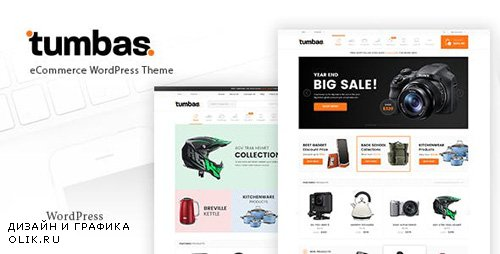 ThemeForest - Tumbas v1.6 - Responsive Woocommerce WordPress Theme - 19263373