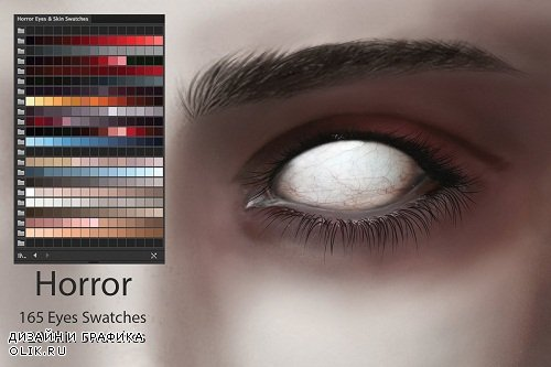 Horror Eyes & Skin Ai and PS Swatches - 2898360 - 2881239
