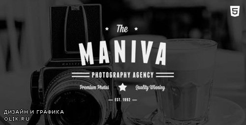 ThemeForest - Photography Agency - Maniva HTML Template v1.0 - 12312117
