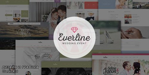 ThemeForest - Everline v1.0 - Wedding Events HTML Template - 10816385