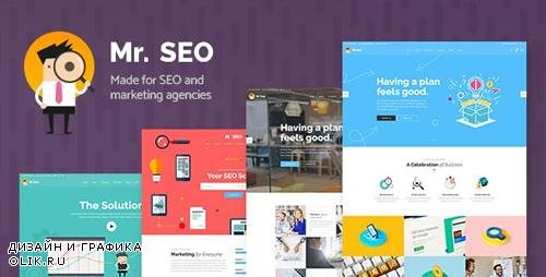 ThemeForest - Mr. SEO v1.6 - SEO, Marketing Agency and Social Media Theme - 19639484