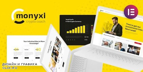 ThemeForest - Monyxi v1.1 - Cryptocurrency Trading Business Coach WordPress Theme - 22219932