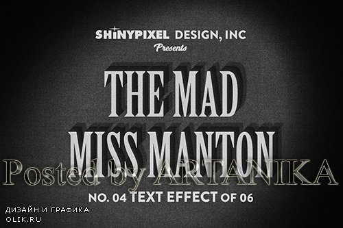Old Movie Title - Text Effect 4