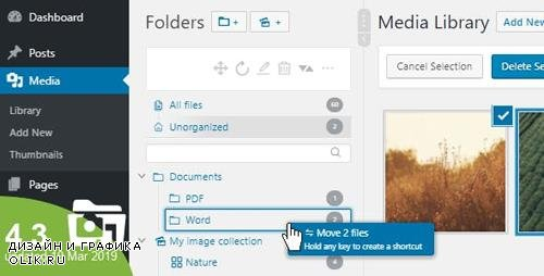CodeCanyon - WordPress Real Media Library v4.3.0 - Media Categories / Folders File Manager - 13155134 -