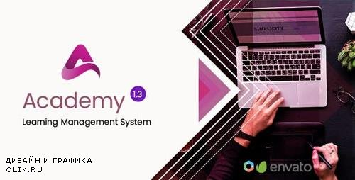 CodeCanyon - Academy v1.3 - Course Based Learning Management System - 22703468 - NULLED