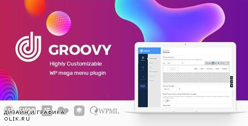 CodeCanyon - Groovy Menu v1.6.3 - WordPress Mega Menu Plugin - 23049456