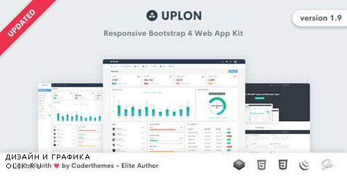 ThemeForest - Uplon v1.9 - Responsive Bootstrap 4 Web App Kit - 16607656