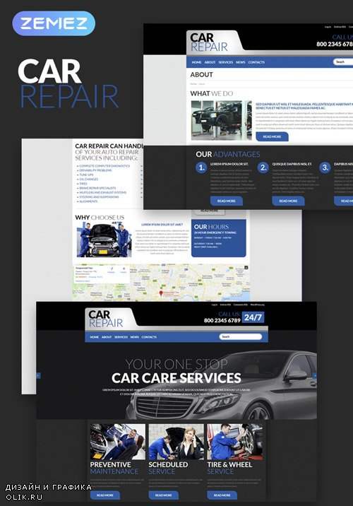 Carrepair v1.0.0 - Cars WordPress Theme - TM 52721
