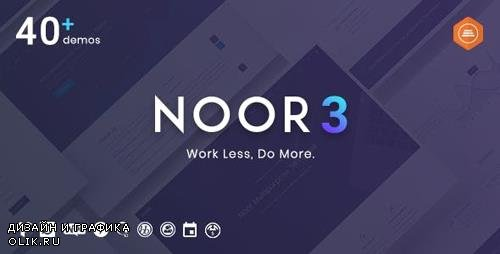 ThemeForest - Noor v3.5.1 - Multi-Purpose & Fully Customizable Creative AMP Theme - 20759600