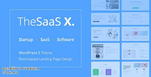ThemeForest - TheSaaS X v1.0.4 - Responsive SaaS, Startup & Business WordPress Theme - 20136366