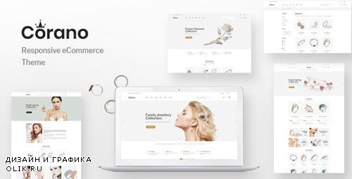 ThemeForest - Corano v1.0 - Jewellery OpenCart Theme (Page Builder Layouts) - 23588752