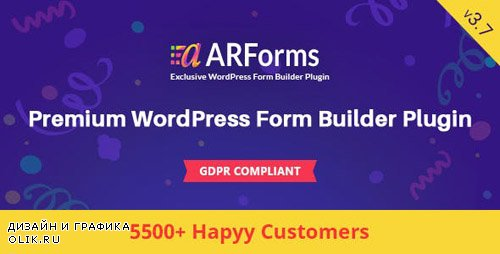 CodeCanyon - ARForms v3.7.0 - Wordpress Form Builder Plugin - 6023165 -
