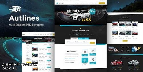 ThemeForest - Autlines v1.0 - Autodealer , Tuning & PDR services - 23585159