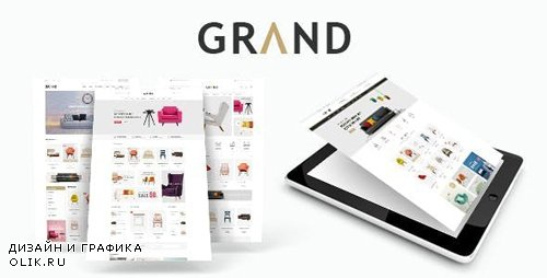 ThemeForest - Grand v1.1.1 - Responsive Furniture WooCommerce WordPress Theme - 20481544