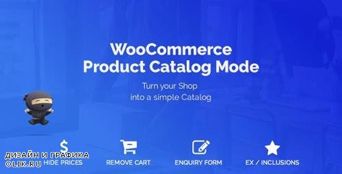 CodeCanyon - WooCommerce Product Catalog Mode & Enquiry Form v1.5.12 - 14518494