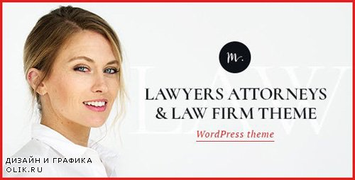 ThemeForest - M.Williamson v1.2 - Lawyer & Legal Adviser WordPress Theme - 20358946