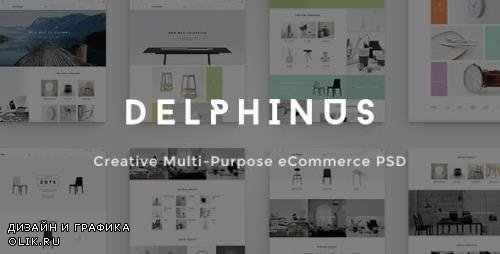 ThemeForest - Delphinus v1.0 - Creative eCommerce PSD template - 12494466
