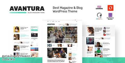 ThemeForest - Avantura v1.4 - Magazine & Blog WordPress Theme - 19613703