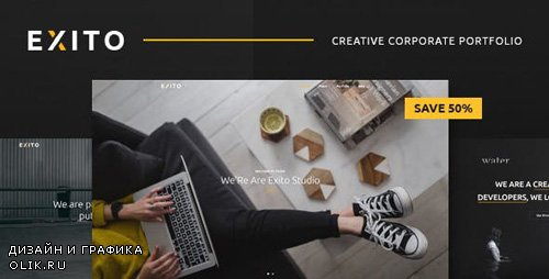 ThemeForest - Exito v1.1 - Creative & Comfortable WordPress Theme - 20190546
