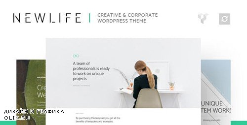 ThemeForest - Newlife v1.1 - Creative & Corporate WordPress Theme - 19470392
