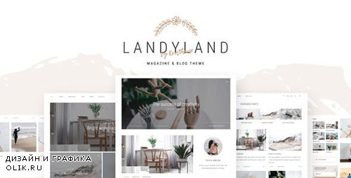 ThemeForest - Landyland v1.0 - Responsive Clean Blog & Magazine Theme - 20252660