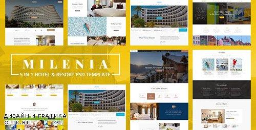 ThemeForest - Milenia v1.0 - Hotel & Resort PSD Template - 23203299