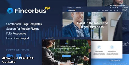 ThemeForest - Fincorbus v1.0 - Finance Corporate WordPress Theme - 20983737