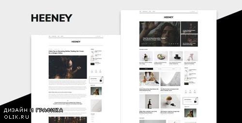 ThemeForest - Heeney v1.0 - Modern Blog HTML5 Template - 23311353
