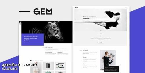 ThemeForest - Gems v1.0 - A Multi-Purpose WordPress Theme - 20576229