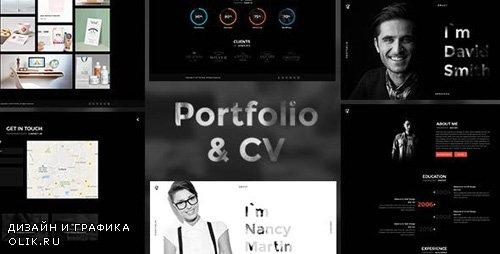 ThemeForest - CV Portfolio v1.0.5 - Portfolio HTML Template - 20793394
