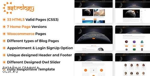 ThemeForest - Astrology v1.0.2 - Site Template - 20474820