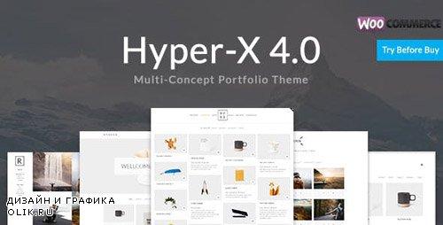 ThemeForest - HyperX v4.8.3 - Responsive Wordpress Portfolio Theme - 13439786